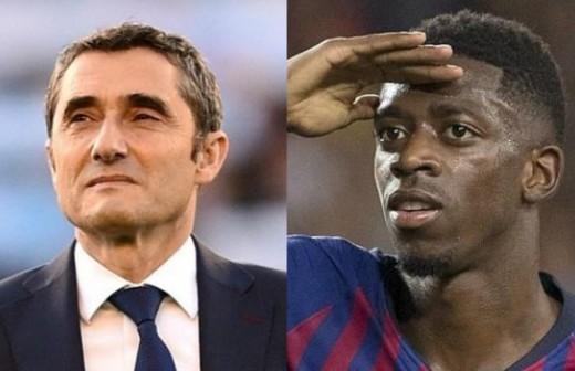 Valverde pasa revista: el 'tardón' Dembélé, el Madrid, Kane...