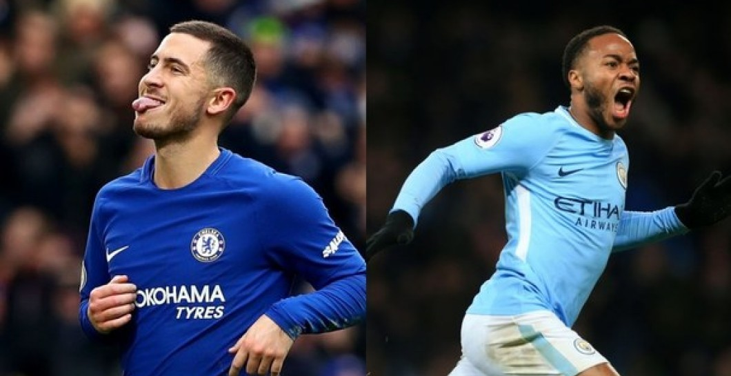 Sterling, Hazard, Manchester City, Chelsea