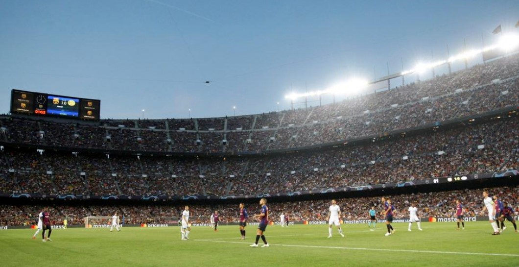 Camp Nou en Champions League