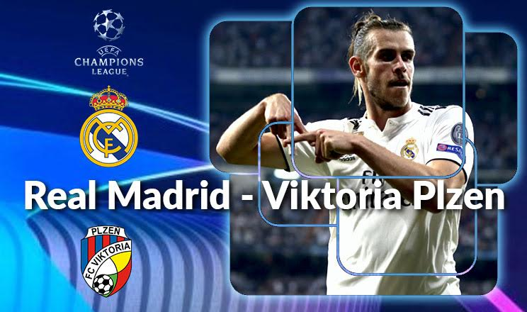 Real Madrid-Viktoria Plzen