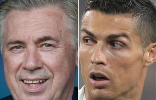 Ancelotti 'se mofa' de Ronaldo