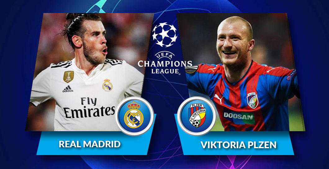 Real Madrid - Viktoria Plzen