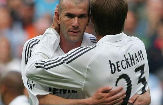 El equipo 'galactico' que podría unir de nuevo a Zidane y Beckham