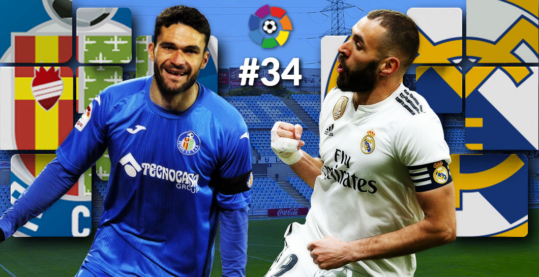 Getafe-Real Madrid