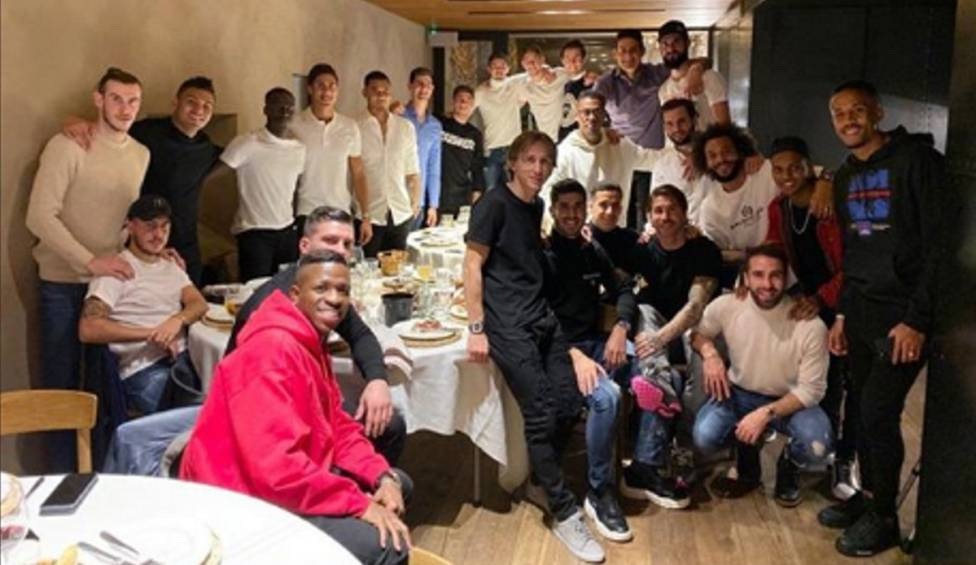 Cena del Real Madrid