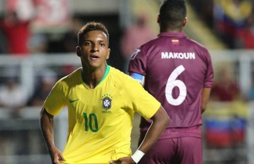 Rodrygo, 'problema' de estado entre: Madrid, Santos y Brasil