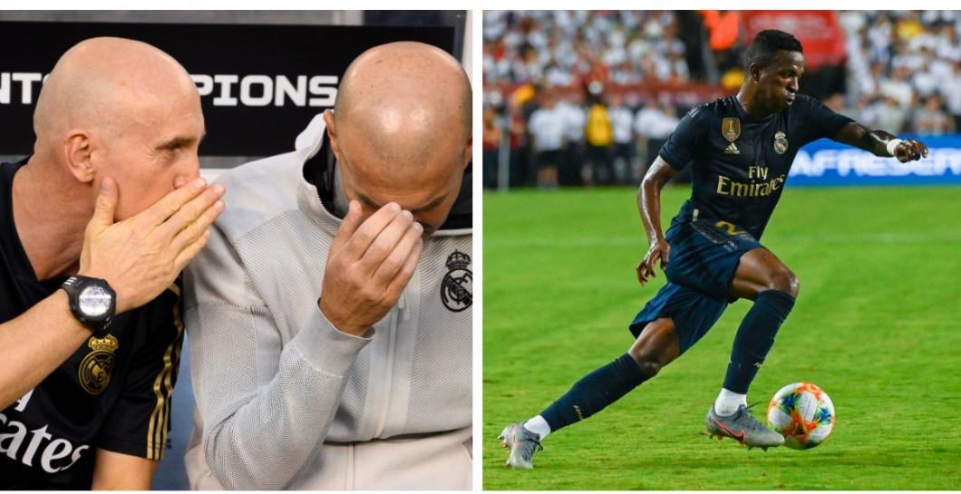 Bettoni, Zidane and Vinicius