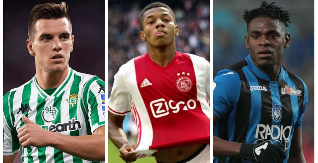 Lo Celso, Neres y Zapata