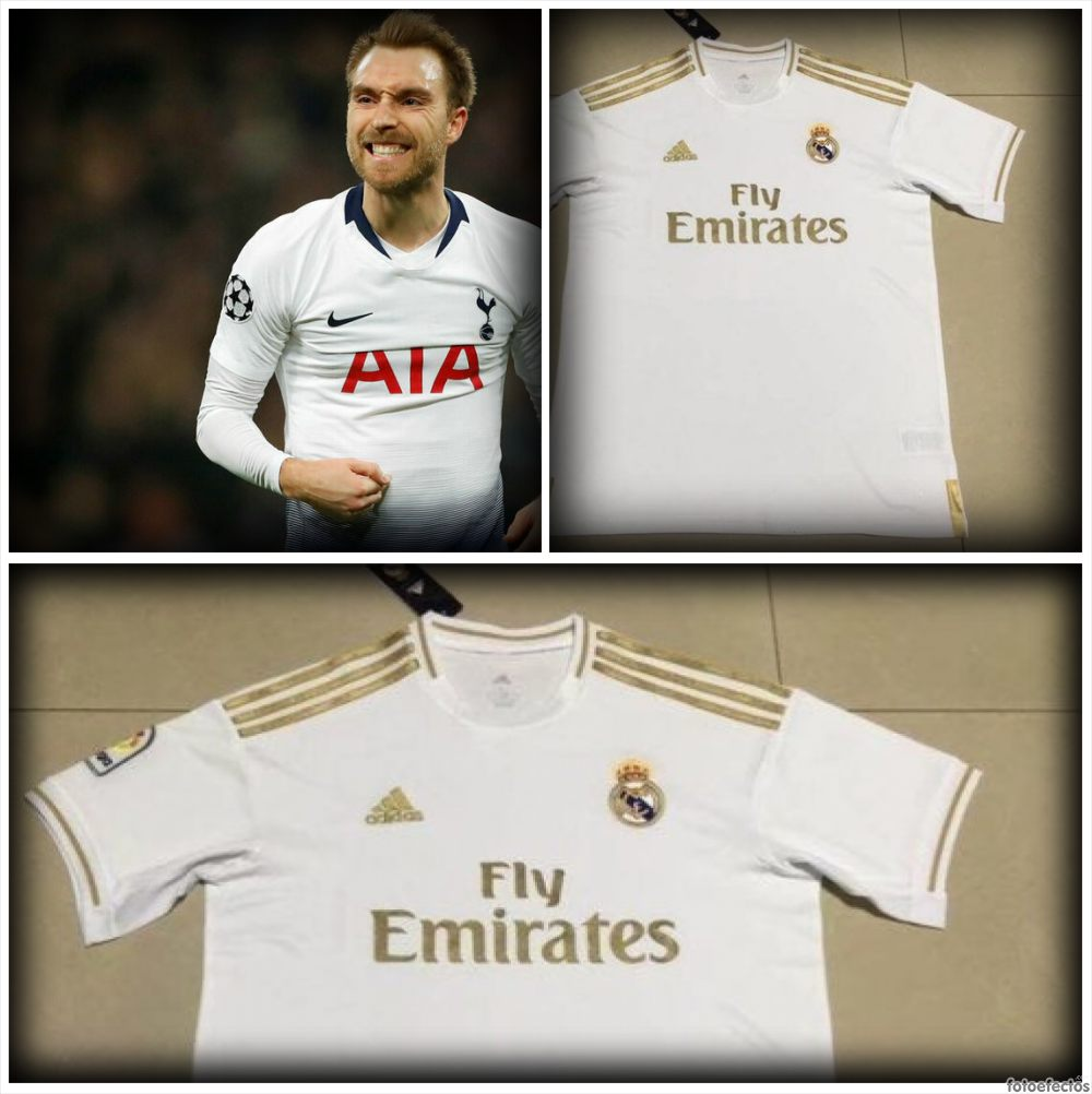 Eriksen - camiseta Real Madrid