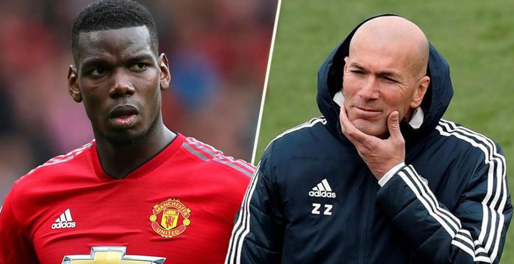 Pogba and Zidane