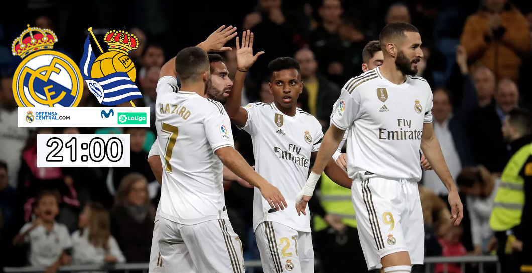 Previa Real Madrid-Real Sociedad