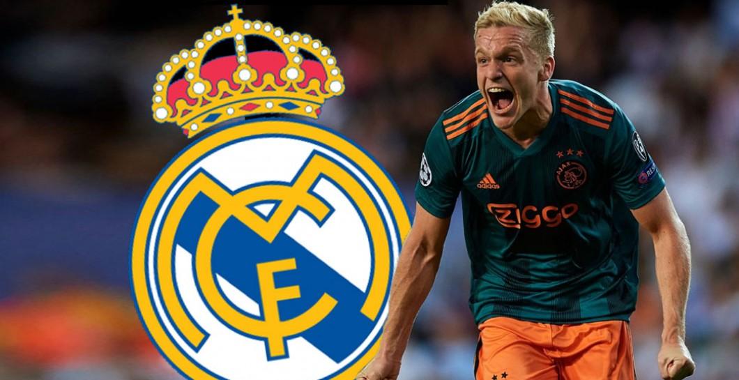 Van de Beek: ¿Real Madrid?