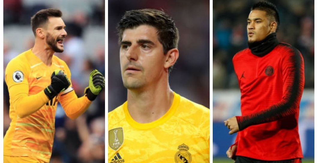 Lloris, Courtois y Areola