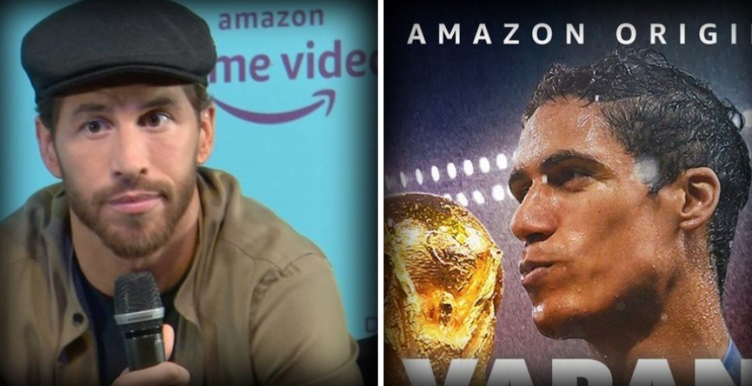 Ramos-Varane, documentales Amazon