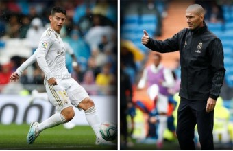 Noticia DC: el gesto que no se vio de Zidane con James