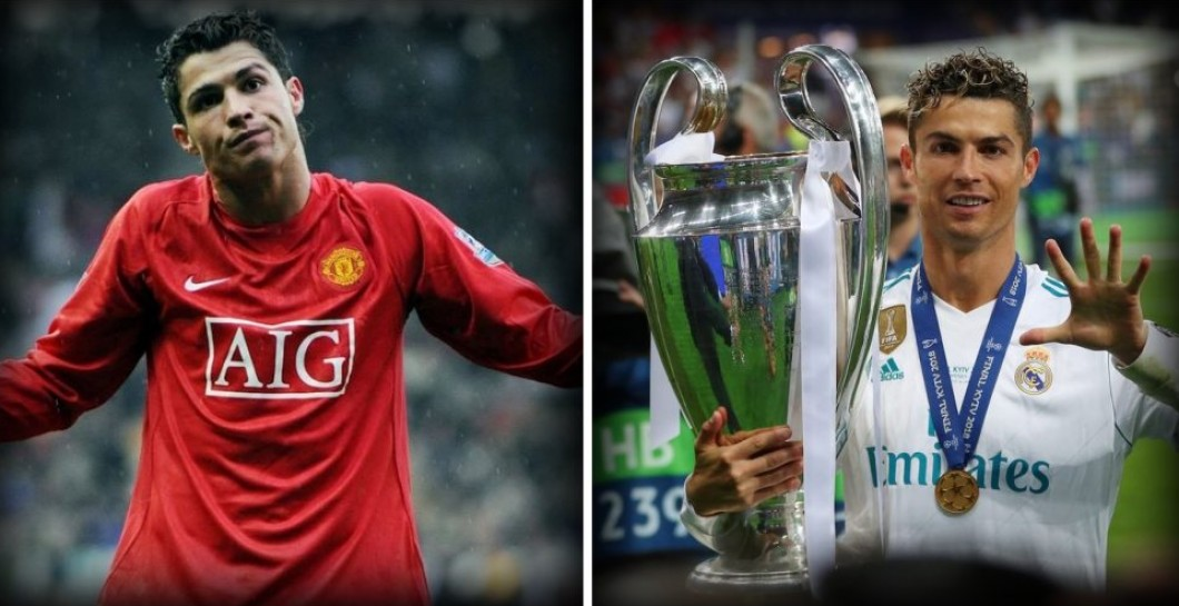 Cristiano, Manchester United y Real Madrid