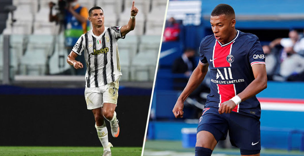 Mbappé y Cristiano