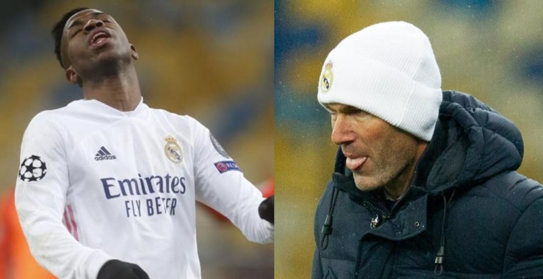 Vinicius and Zidane
