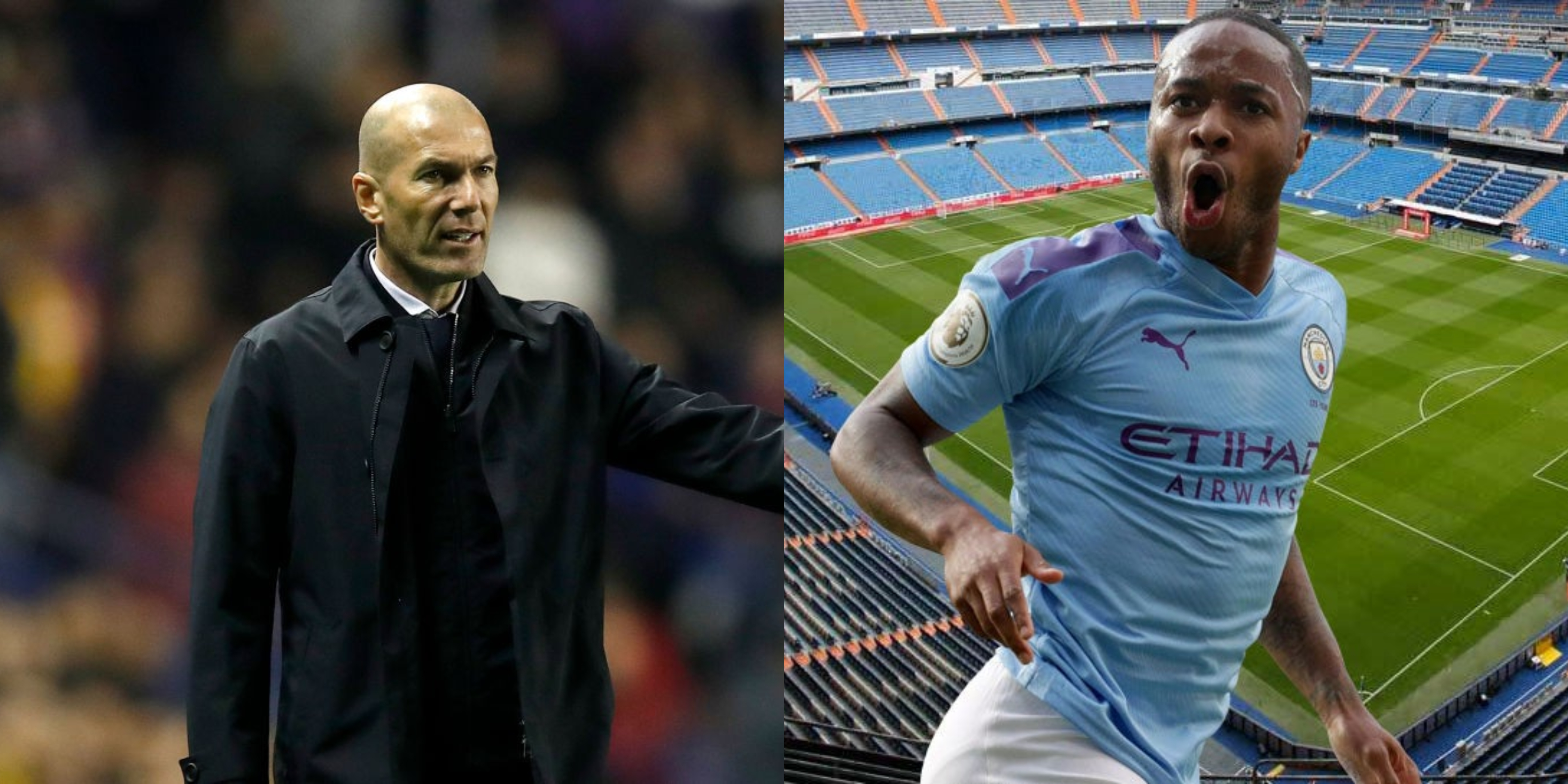 Zidane y Sterling