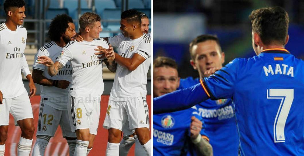 Real Madrid y Getafe