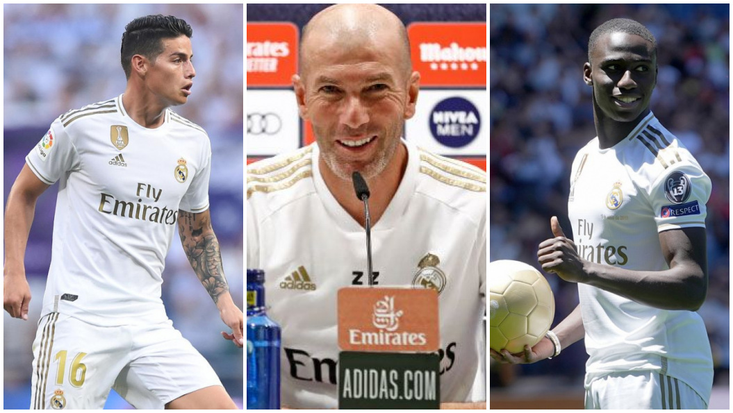James, Zidane y Mendy