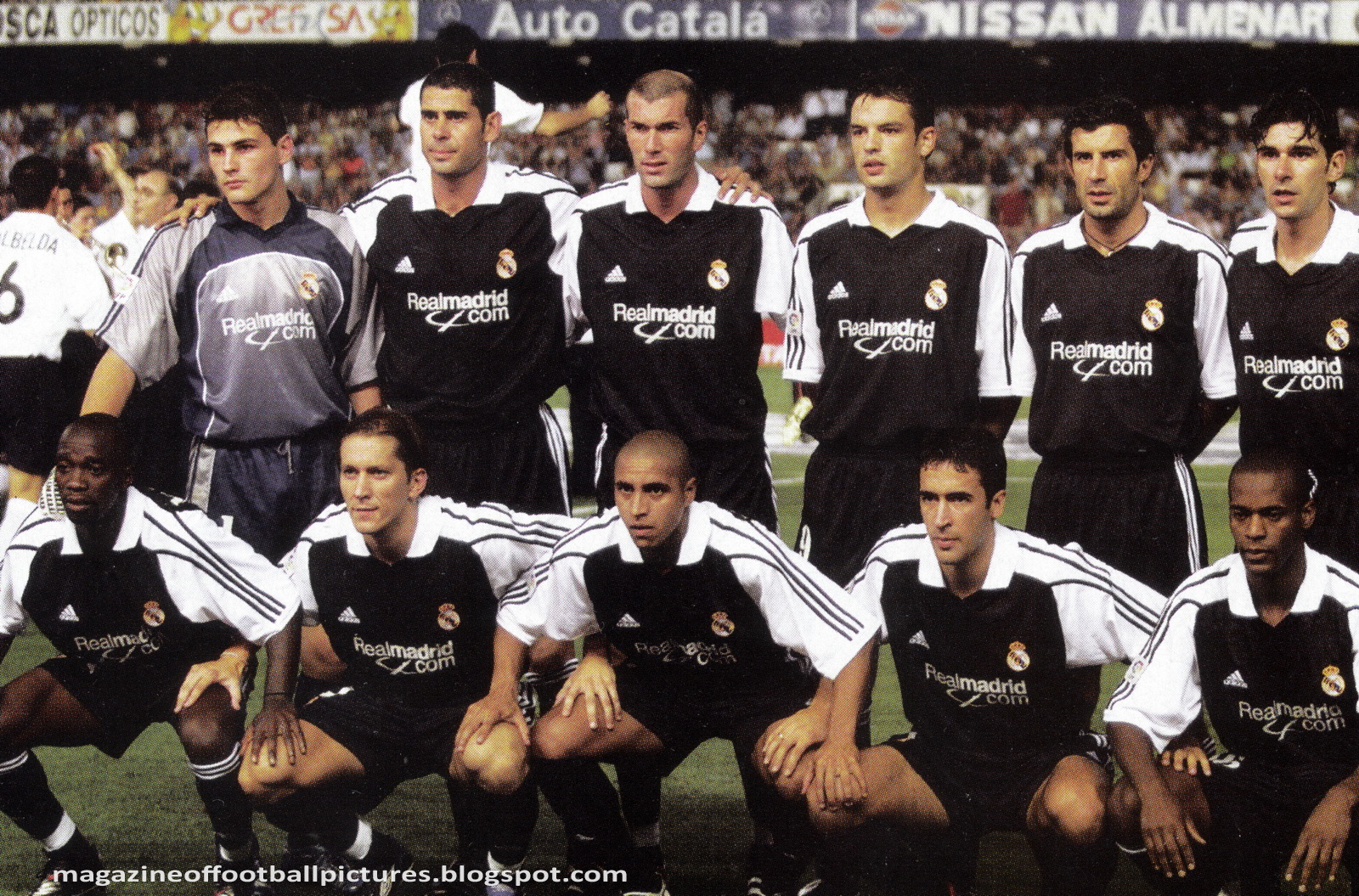 Real Madrid 2001
