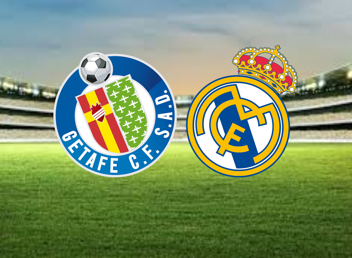 Escudo Getafe y Real Madrid