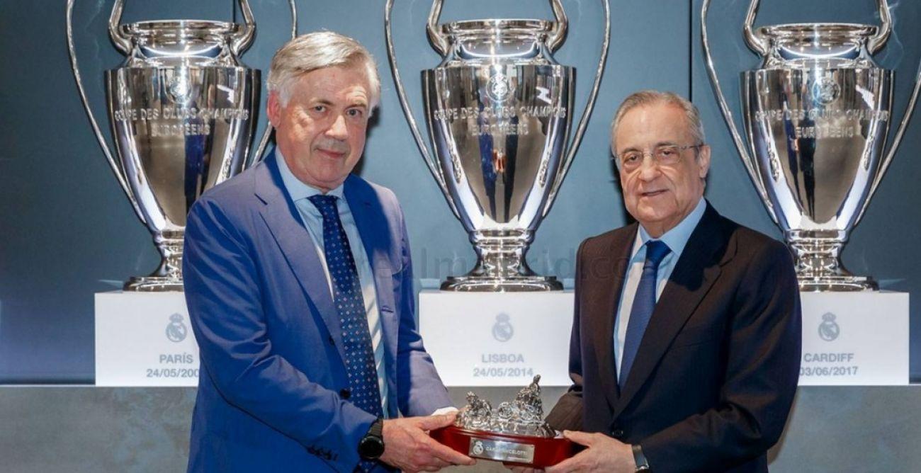 ¿Cuánto mide Carlo Ancelotti? - Altura - Real height Ancelottiflorentino_O_amp