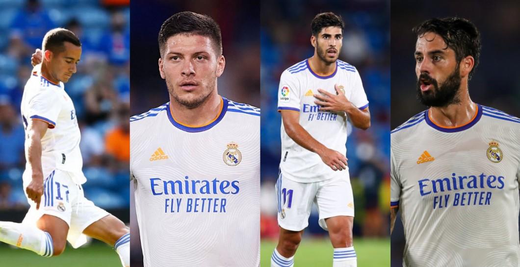 Lucas Vázquez, Isco, Jovic y Asensio