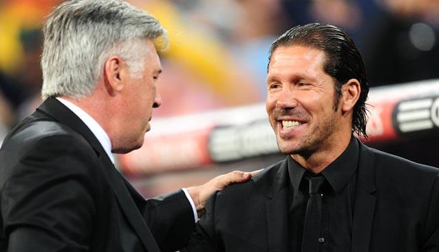 Ancelotti y Diego Simeone