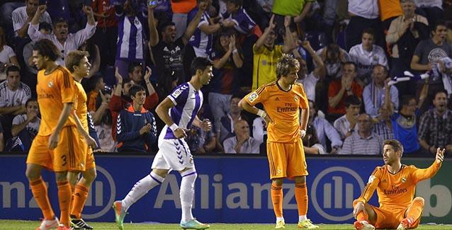 Real Madrid empató en Valladolid