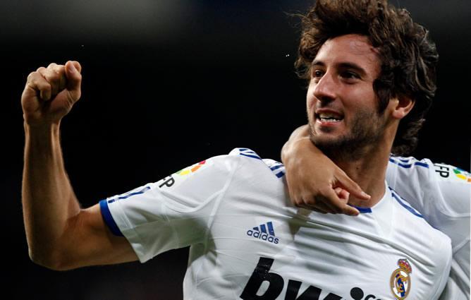 Granero con el Real Madrid